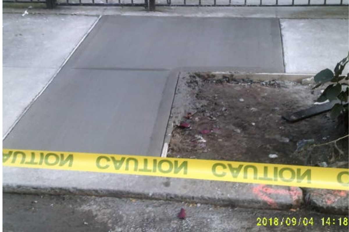 NYC Sidewalk Violations