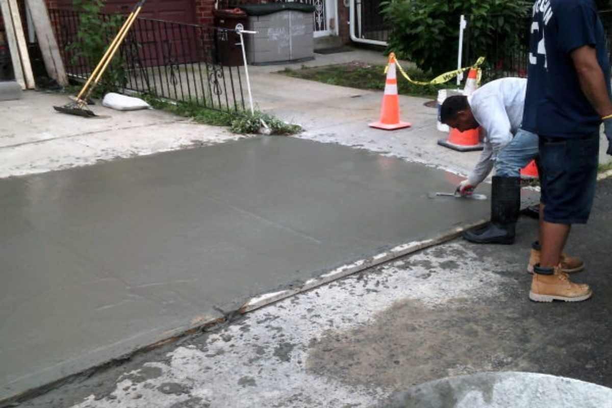 Concrete Sidewalks NY