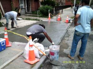 Sidewalk Violation Removal Contractor NYC