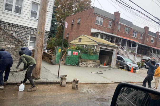 sidewalk repair queens