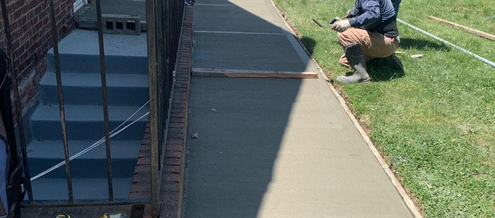 sidewalk repair in Brooklyn